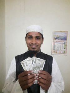Ulamas and Imams Money Distribution